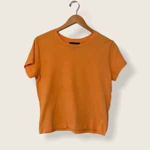 🌵4/$20 Orange Forever 21 Basic Tee